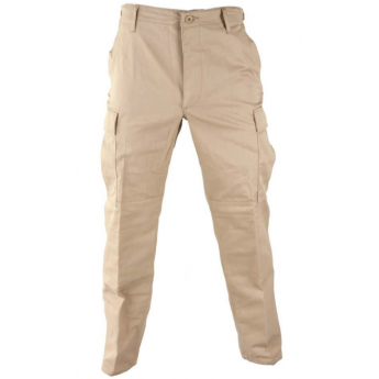 Pantalone esercito americano  bdu in cotone color kaky