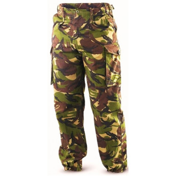 "Pantalone esercito inglese mimetismo dpm woodland ""usati 1° scel"