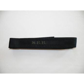 Cintura militare SBB Nera in cordura