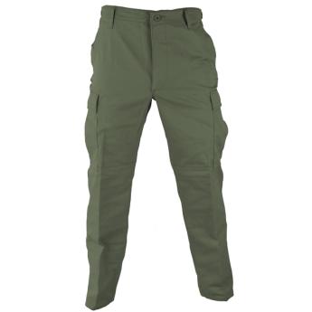 Pantalone militare us army bdu americano in ristop verde OD