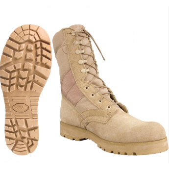 Anfibio militari americani Rothco  Desert Tan Jungle Boot