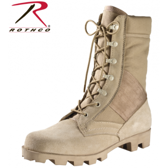 Anfibio Scarponcino militare desert tan boots made in usa
