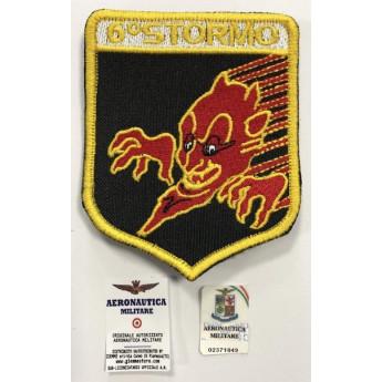 Patch aeronautica militare italiana  del 6º Stormo - ghedi