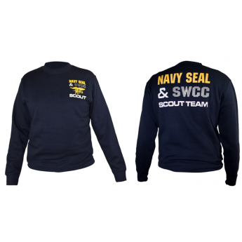 Felpa Marina Militare Americana Navy Seals scout team