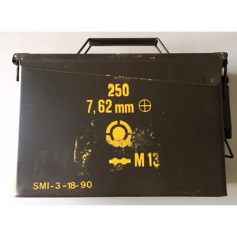 Casse porta munizioni  m 13 -7,62 militare