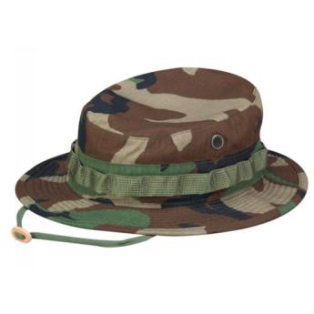 Cappello militare americano bonny hat jungla woodland