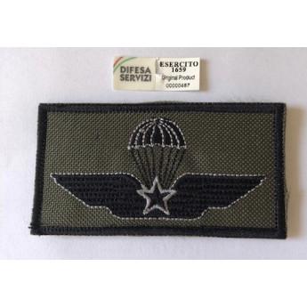 Brevetto paracadutista militare ricamato
