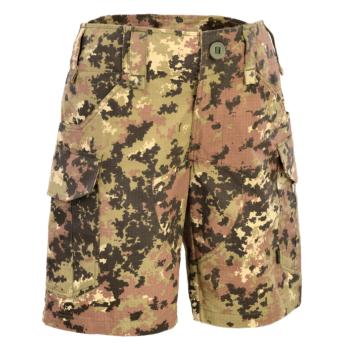 Pantalone corto bermuda militari in Ristop vegetato italiano
