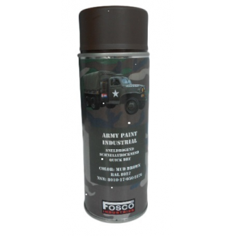Vernice spray soft air -fosco BROWN  da 400 ml