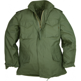 GIACCA MILITARE  M 65 ALPHA INDUSTRIES  verde oliva