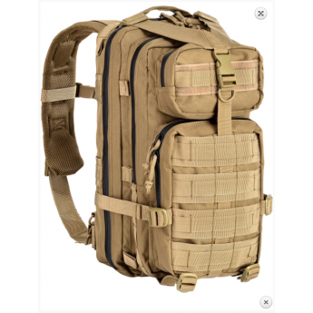 Zaino militare tactical back pack 35 LT colore tan DEFCON 5