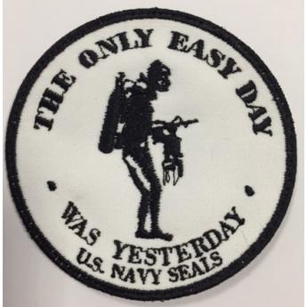 Patch ricamato  marina militare americana NAVY SEALS SCUBA