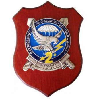 Crest 2° battaglione  paracadutisti tarquinia