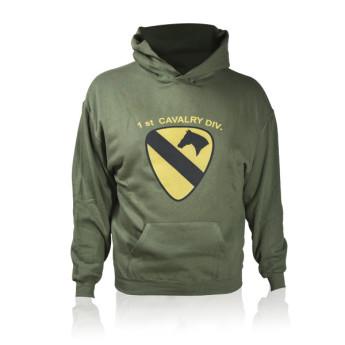 felpa 101° divisione Cavallery americana