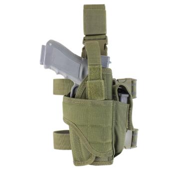 Cosciale porta pistola  CONDOR colore verde OD