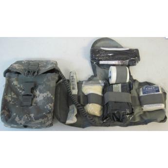 Kit-pouch primo soccorso militare in acu