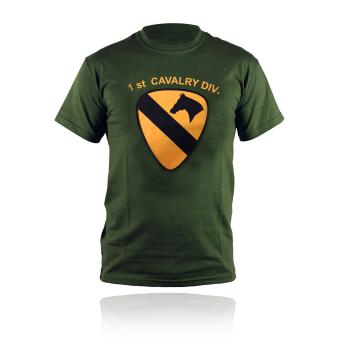 T-SHIRT MILITARE 1° DIVISIONE CAVALLERIA  USA