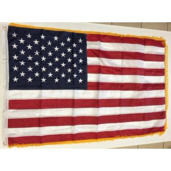 Bandiera americana governativa con frange originale