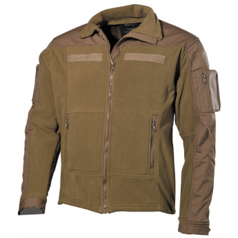 Pile fleece combat MFH tan
