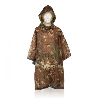 Poncho militare vegetato italiano