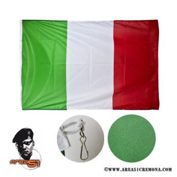 Bandiera italiana in tessuto marino