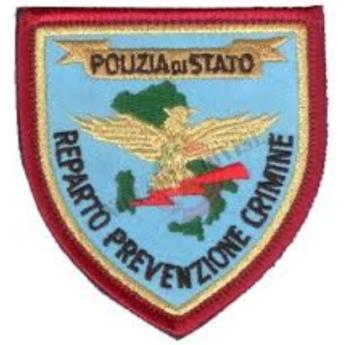 Patch Reparto Prevenzione Crimine Polizia di Stato