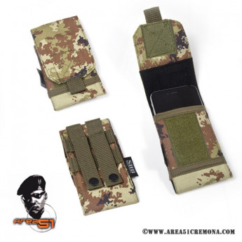 Porta smartphone in cordura Vegetato italiano