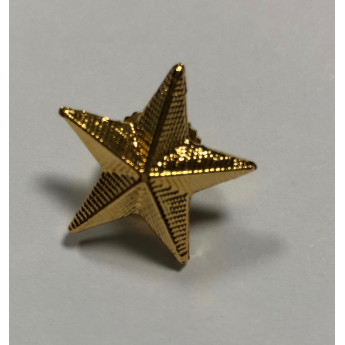 Stella Militare in metallo grande d'orata