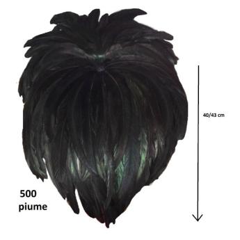 Piumetto Cappello militare per Varia-Moretto da 500 piume