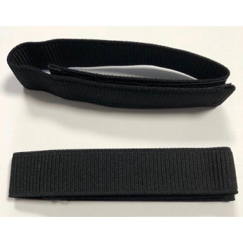 Sbuffi elastici per gamba colore neri