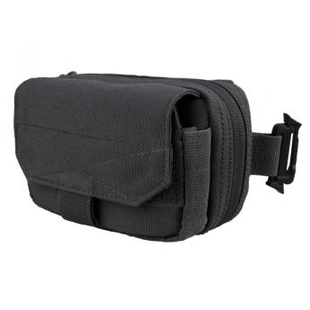 Tasca porta accessori con sistema molle  nera