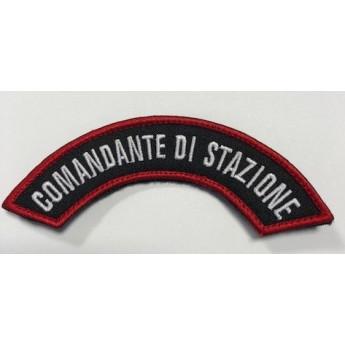 Patch Comandante di stazione Carabinieri