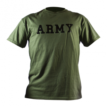 T-SHIRT  MILITARE US ARMY VERDE OD