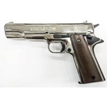 Pistola a salve 8 mm colt 1911 nikel