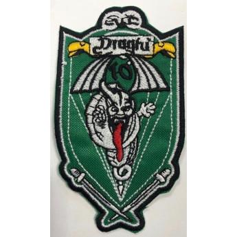 Patch ricamata 187° reggimento paracadutisti 10 ^ cp draghi