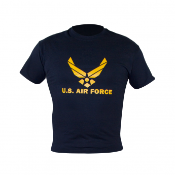 T-SHIRT MAGLIA AMERICANA US AIR FORCE BLU NAVY