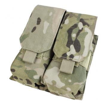Porta caricatore fucile M4 doppio Multicam