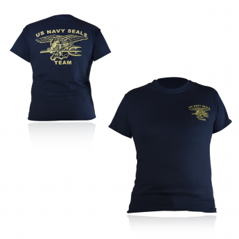 T-SHIRT  MILITARE NAVY SEALS TEAM
