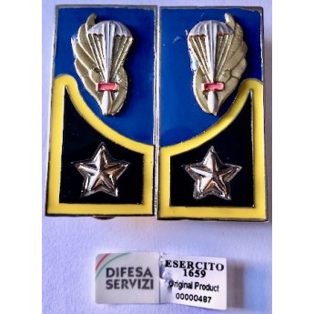 Mostrine 185° reggimento Artiglieria Paracadutisti Folgore