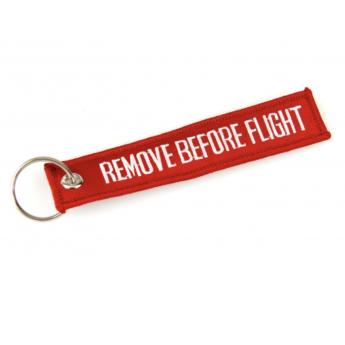 Portachiavi volo REMOVE BEFORE FLIGHT