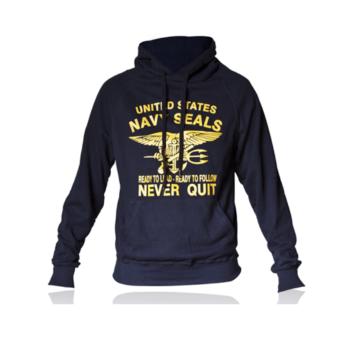 Felpa marina Americana dei Navy Seals