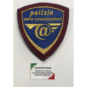 PATCH OMERALE POLIZIA DELLE COMUNICAZIONI