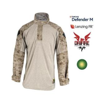 Tactical-Combat shirt Marpat Desert ignifuga IR