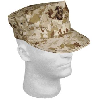 Cappello militare americano garrison Marpat desert  Usmc