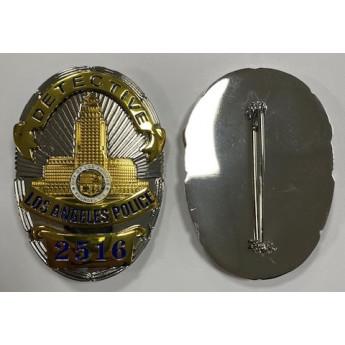 PLACCA BADGE POLIZIA AMERICANA DI LOS ANGELES 2516
