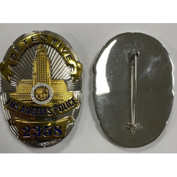 Placca Badge  Insigna della POLIZIA  AMERICANA DI LOS ANGELES 2358