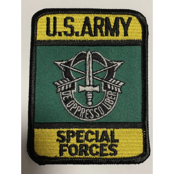 Patch toppa U.S.Army Special Forces americana