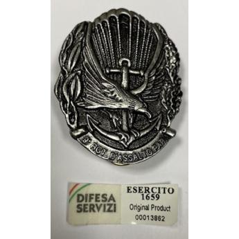 Spilla 9° reggimento d'assalto Paracadutisti Col Moschin