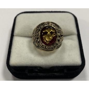 Anello Militare Marines Corps USMC Originale