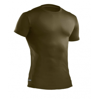 T-shirt tecnica militare UNDER ARMOUR COLD GEAR verde od